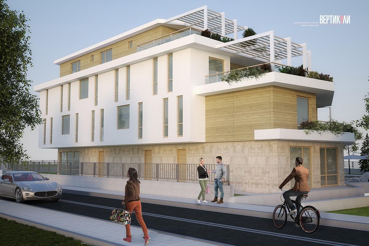 3D визуализация на жилищна сграда
