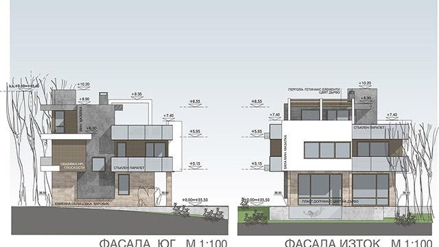 Архитектурен проект на Еднофамилна къща, местност Мисаря, гр.Созопол