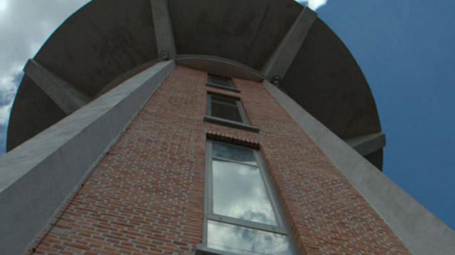Водна кула Превърната в еднофамилна къща, Белгия