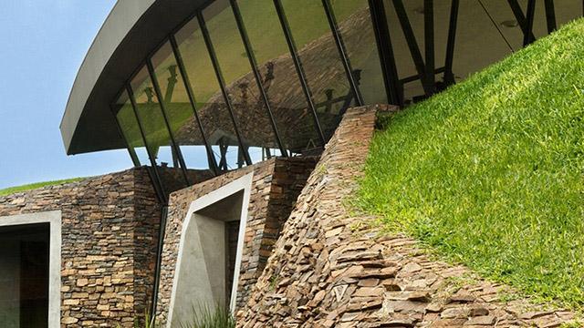 Къща под земята в Парагвай