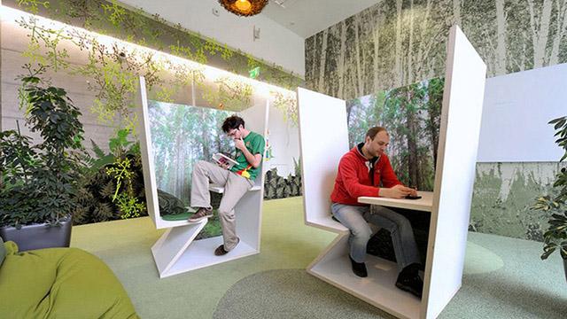 Google с един от най-лудите интериори на офиси в света