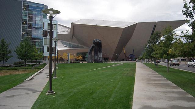Denver Art Museum - зашеметяващи произведения на архитектурата част 1