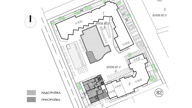 Архитектурен проект за Жилищна сграда за сезонно ползване