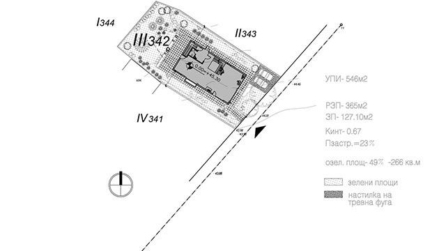 Архитектурен проект за Еднофамилна къща, в.з.Минерални бани, гр. Бургас