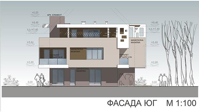 Архитектурен проект на Жилищни сгради, гр. Поморие