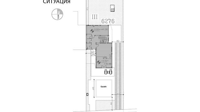 Архитектурен проект на Еднофамилна къща м.Аклади гр.Черноморец