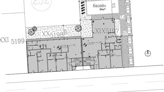 Архитектурен проект на Жилищна сграда, гр.Поморие