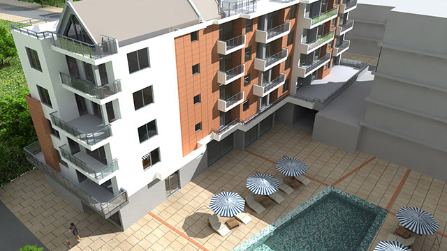 Architectural project of a Residential buildings; Pomorie