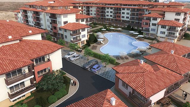 Архитектурен проект на жилищни сгради, гр.Ахелой, обл. Бургас