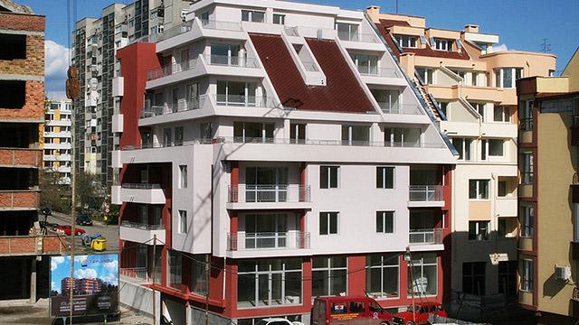 Жилищна сграда, ж.к. Славейков, гр.Бургас
