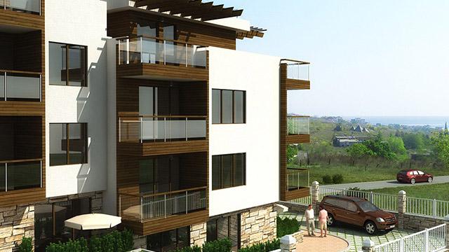Жилищни сгради, местност Синетудис, Созопол