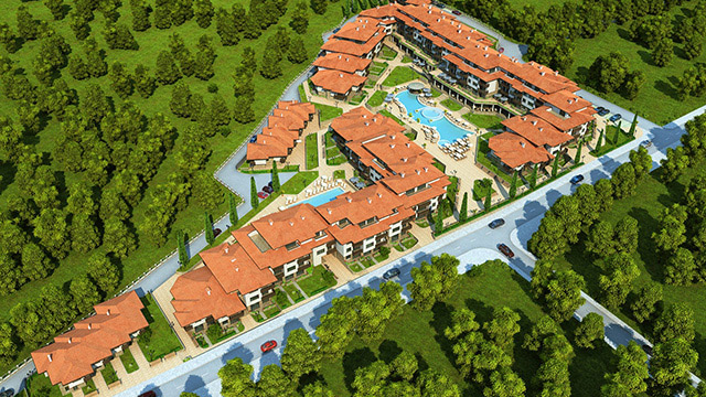 Holiday village; Yurta Balkana, Nessebar - Проектирано от VERTIKALI - Architectural and interior design