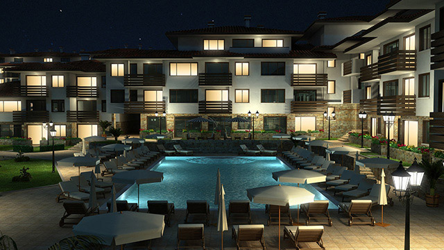 Holiday village; Yurta Balkana, Nessebar