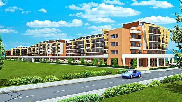 Архитектурен проект на Ваканционен комплекс - Гранд Камелия, Слънчев бряг