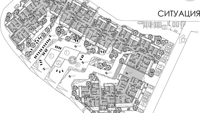 Архитектурен проект на Ваканционен комплекс, местност Бостанлъка, Несебър