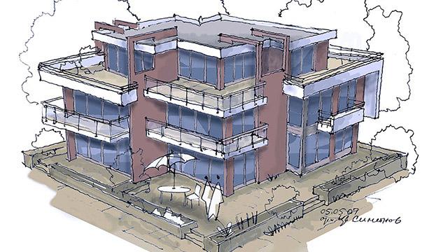 Архитектурен проект на Комплекс – Вилни сгради, м. Лахана, гр.Поморие