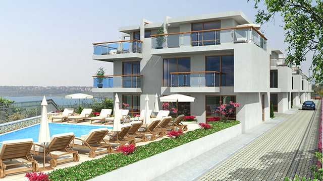 Architectural project of a Holiday Complex buildings; Lahana, Pomorie