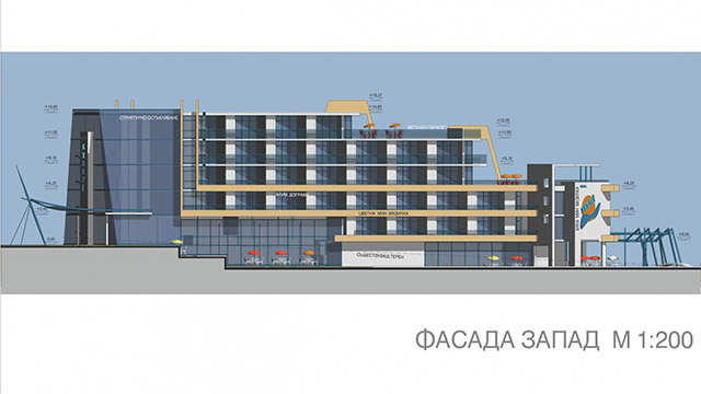 "Architectural project ""Sunset Resort"" hotel; Sunny Beach"