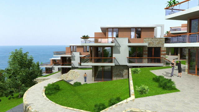 Architectural project of a residential complex; Budjaka, Sozopol