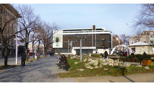 Бургаска Художествена Галерия, конкурсен архитектурен проект