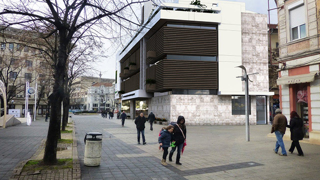 Burgas Art Gallery, an architectural design competition