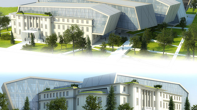 Reconstruction and expansion National Academy of Arts - Проектирано от VERTIKALI - Architectural and interior design