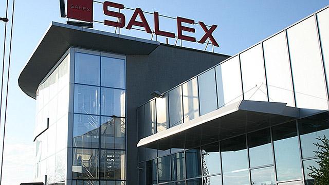 Административна сграда, шоурум и складова база - Salex - гр. Бургас - Проектирано от ВЕРТИКАЛИ - Архитектурно и интериорно проектиране