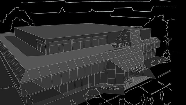 Търговски център гр. Бургас - Проектирано от ВЕРТИКАЛИ - Архитектурно и интериорно проектиране