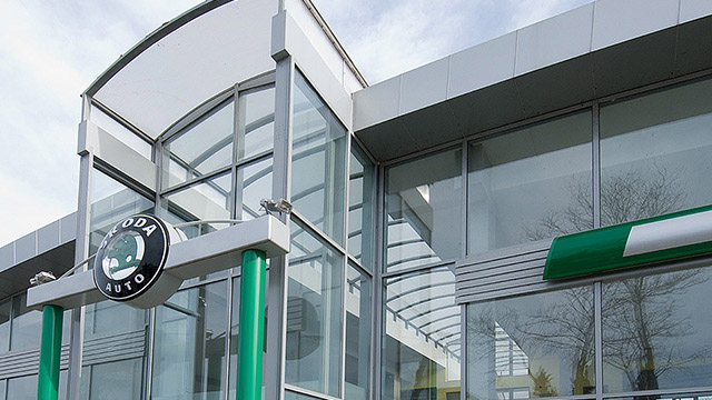 "Architectural project of a Service Center and Showroom for ""Skoda""; Burgas"