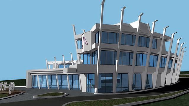 """Модна къща - """"Минон"""", гр. Бургас - Проектирано от ВЕРТИКАЛИ - Архитектурно и интериорно проектиране"""