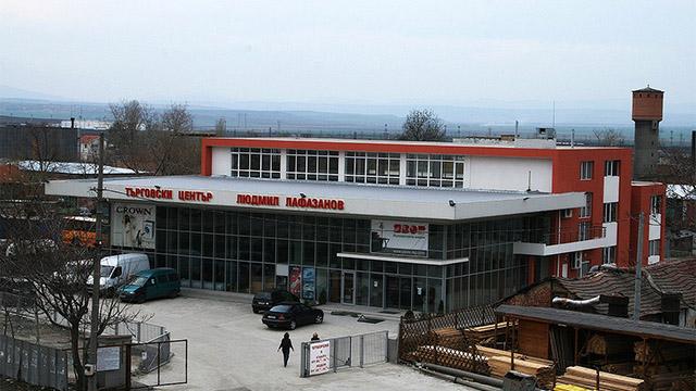 Архитектурен проект на Търговски Център, гр. Карнобат - Проектирано от ВЕРТИКАЛИ - Архитектурно и интериорно проектиране