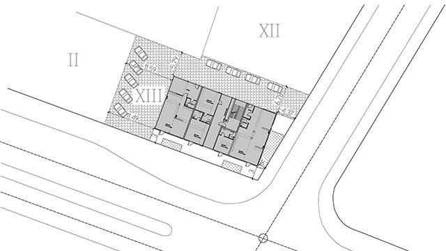 Архитектурен проект на Търговски център, к.к. Слънчев бряг