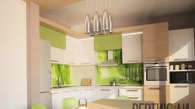 Интериорен дизайн на апартамент, гр.Бургас, център