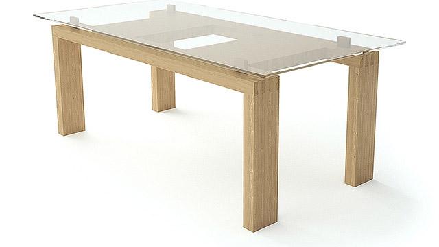 """Трапезна маса от масив - """"MOOD-WOOD table"""" - Проектирано от ВЕРТИКАЛИ - Архитектурно и интериорно проектиране"""