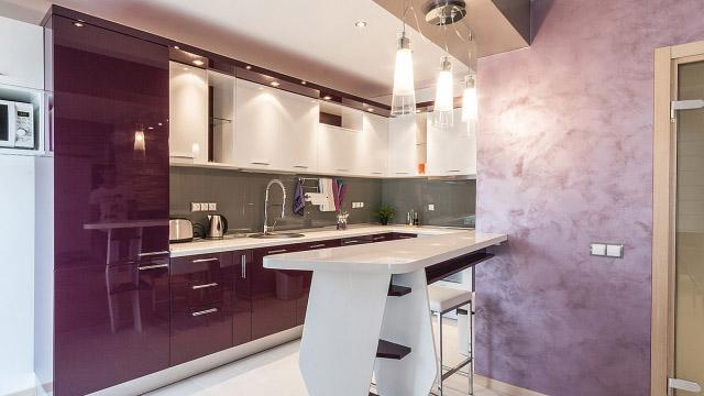 Интериорен проект за апартамент гр.Бургас, център - Проектирано от ВЕРТИКАЛИ - Архитектурно и интериорно проектиране
