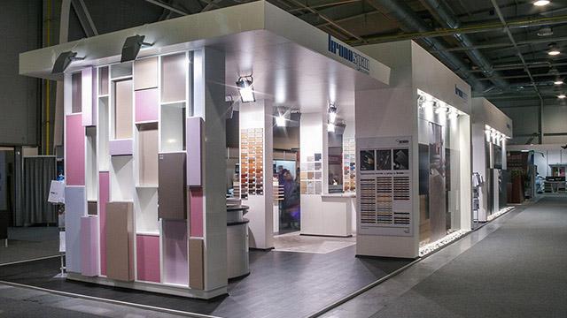 Дизайн на Изложбен павилион – Kronospan (Техномебел 2009)