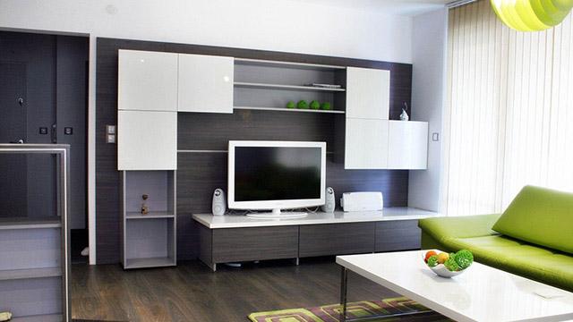 Интериорен проект на апартамент гр.Бургас, ж.к. Славейков - Проектирано от ВЕРТИКАЛИ - Архитектурно и интериорно проектиране