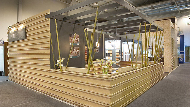 "Design for a exhibition pavilion for ""Kronospan"" Technomebel 2006"