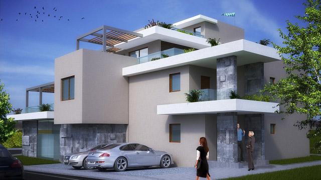 Архитектурен проект за реконструкция и разширение на еднофамилна къща в гр. Черноморец