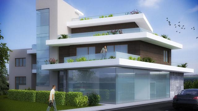 Архитектурен проект за реконструкция и разширение на еднофамилна къща в гр. Черноморец - Проектирано от ВЕРТИКАЛИ - Архитектурно и интериорно проектиране