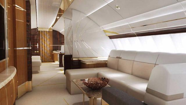 Този частен Boeing 747 е един дворец в небето