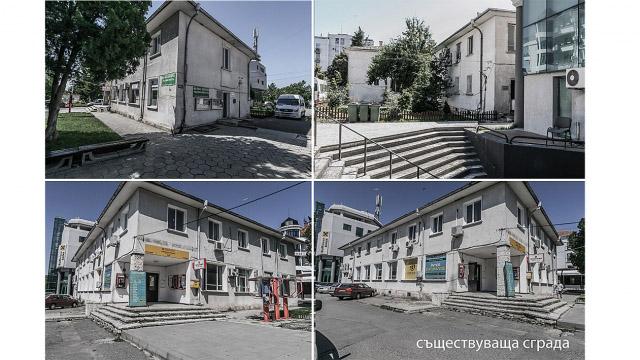 Проект за пристройка и реновация на сграда - пощенска станция,гр. Несебър