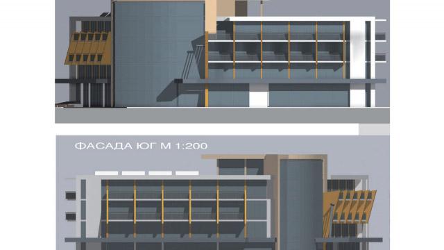 Архитектурен проект на хотел в Китен