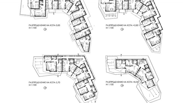 Архитектурен Проект на многофамилна жилищна сграда в гр. Созопол м.Каваци