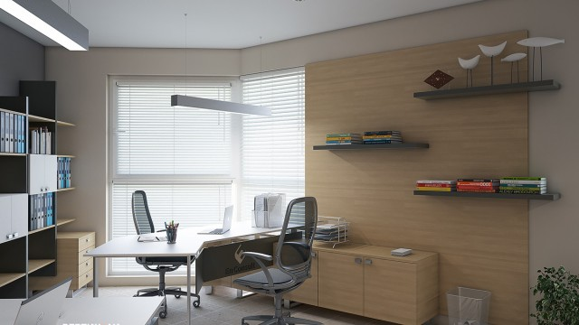 Office centre interior design