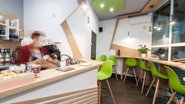 "Интериорен проект и реализация на кафе/заведение ""Си Кафе"" в гр.Бургас"