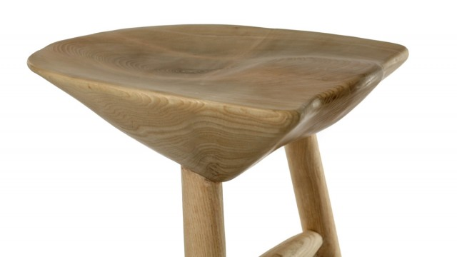 Bar Stool II - Mood Wood Design - Проектирано от VERTIKALI - Architectural and interior design