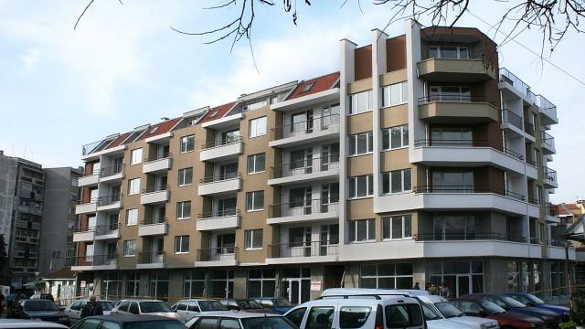 Архитектурен проект на жилищна сграда в ж.к Изгрев, гр. Бургас - Проектирано от ВЕРТИКАЛИ - Архитектурно и интериорно проектиране