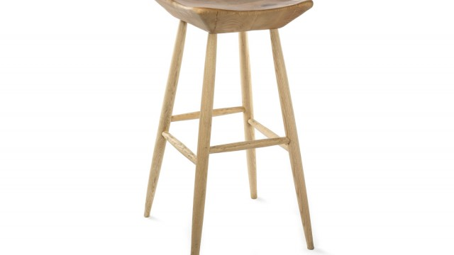 Wooden bar stool IV