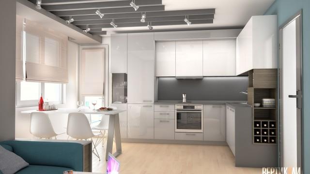 Интериорен проект на апартамент